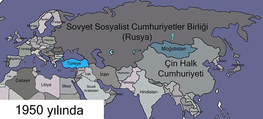 1950 Yılında Türkler - www.turkosfer.com