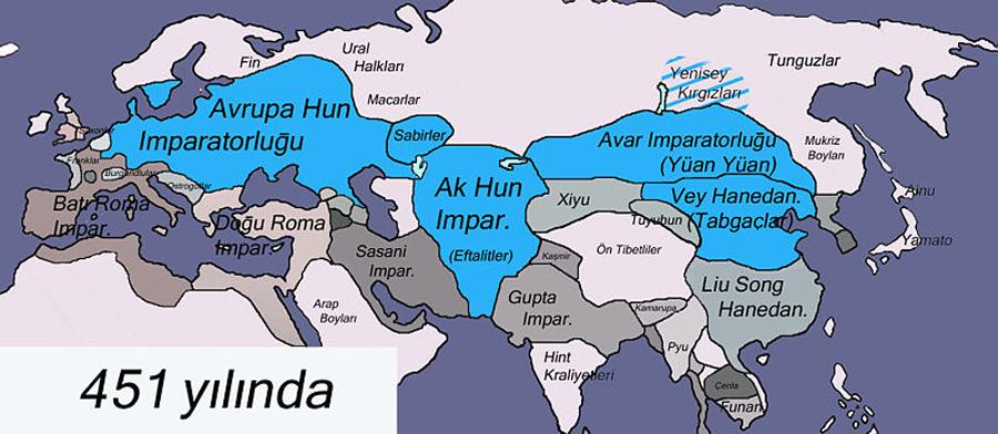 451 Yılında Türkler - www.turkosfer.com