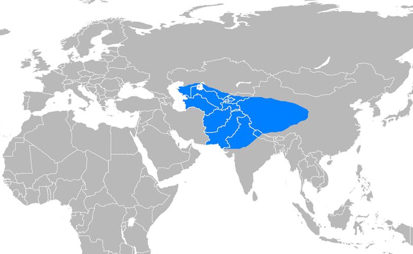 Ak Hun İmparatorluğu Haritası - www.turkosfer.com