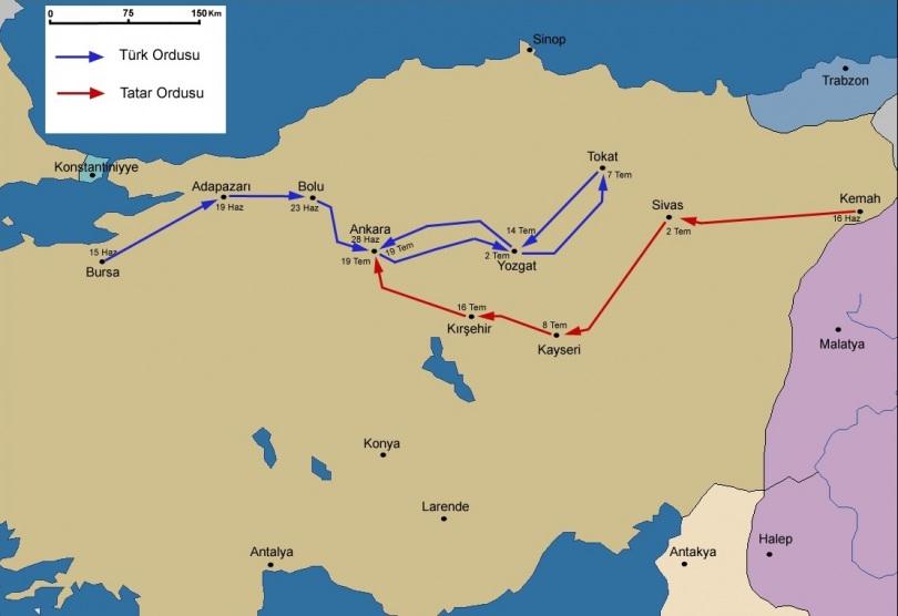 Ankara Savaşı 1 - www.turkosfer.com