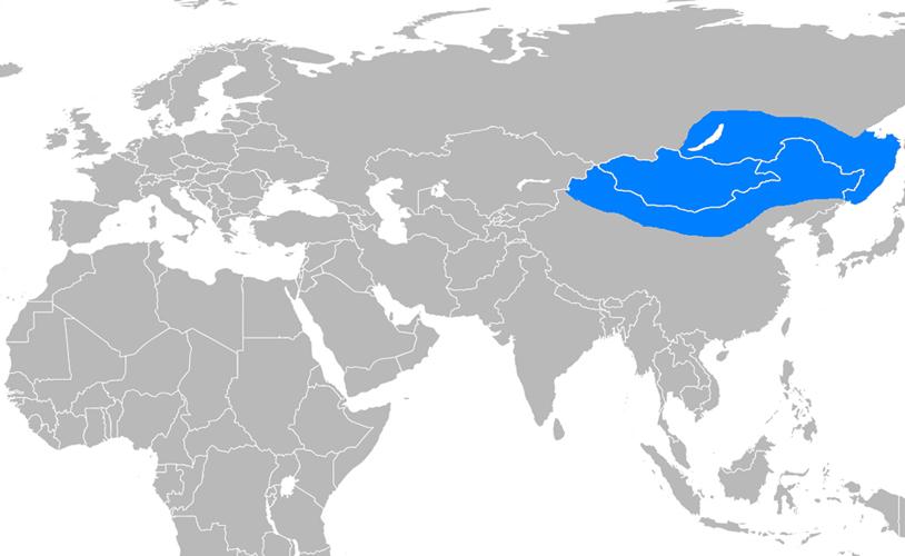 Batı Hun İmparatorluğu Haritası - www.turkosfer.com