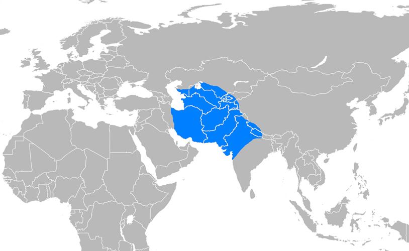 Gazneliler Devleti Haritası - www.turkosfer.com