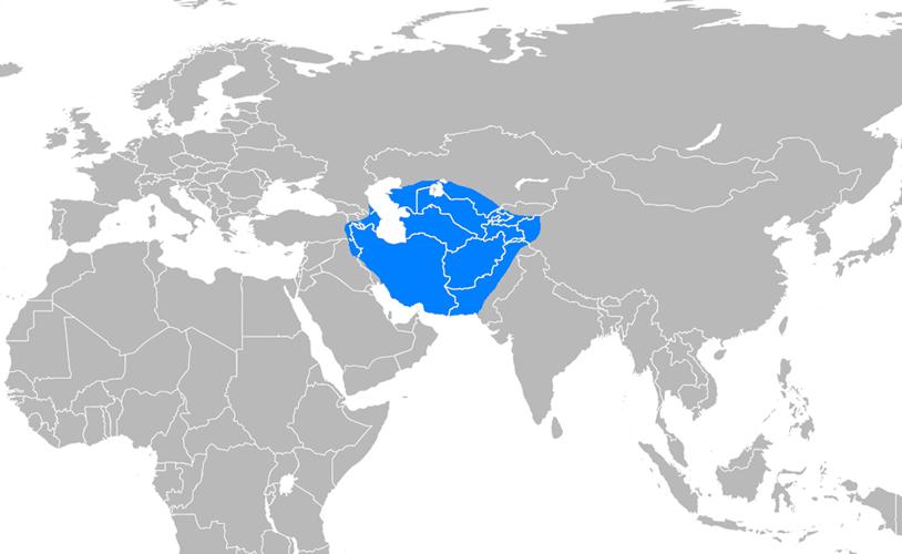 Harezmşahlar Devleti Haritası - www.turkosfer.com