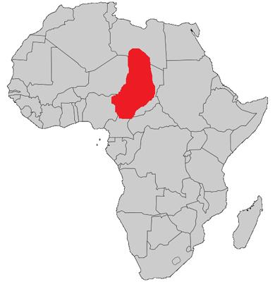 Kanem-Bornu Devleti Haritası - www.turkosfer.com