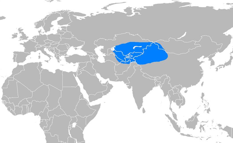 Karahanlılar Devleti Haritası - www.turkosfer.com