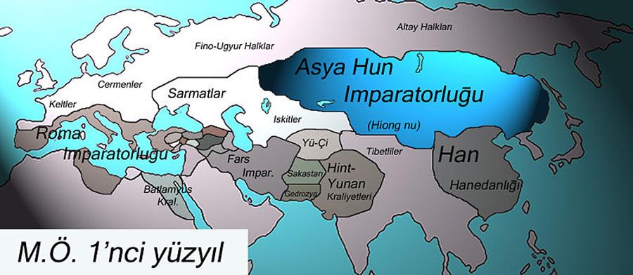 M.Ö. 1'nci Yüzyılda Türkler - www.turkosfer.com