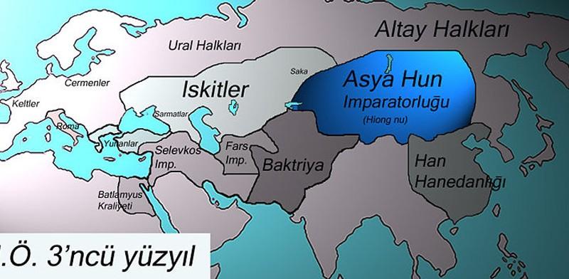 M.Ö. 3'ncü Yüzyılda Türkler - www.turkosfer.com