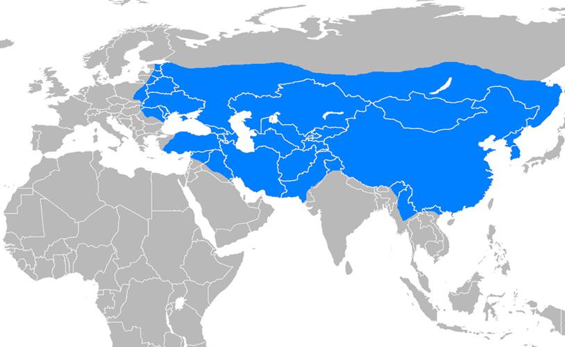 Moğol İmparatorluğu Haritası - www.turkosfer.com