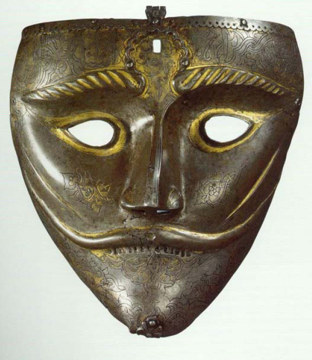 Timurlulara ait savaş maskesi - www.turkosfer.com