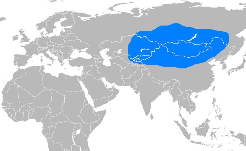 Uygur Devleti Haritası - www.turkosfer.com