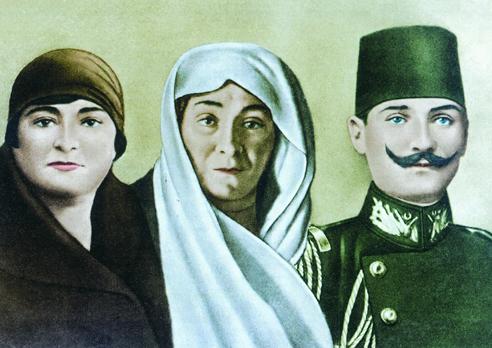 Makbule Hanım, Zübeyde Hanım, Mustafa Kemal Atatürk - www.turkosfer.com