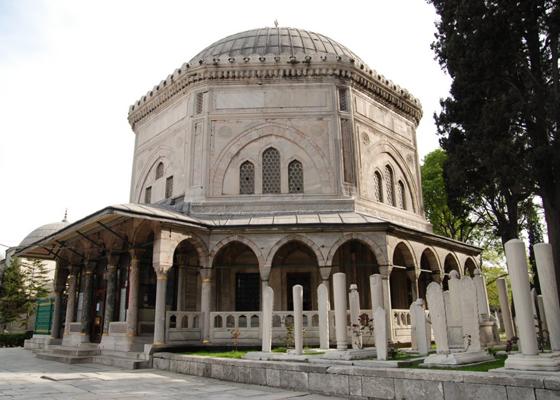 Kanuni Sultan Süleyman'ın Türbesi - www.turkosfer.com