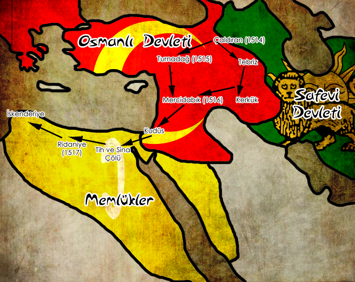 Yavuz Sultan Selim 1515-1517 - www.turkosfer.com