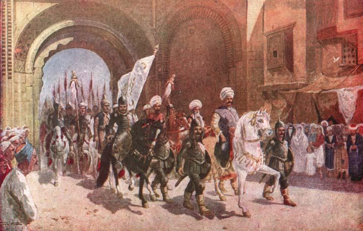 Yavuz Sultan Selim'in Kahire'ye Girişi - www.turkosfer.com