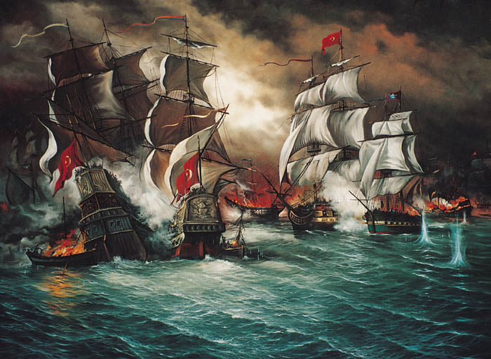 Osmanlı Deniz Savaşı - www.turkosfer.com