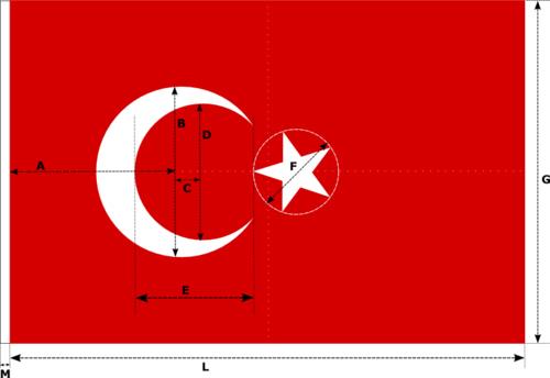 Türk Bayrağı (Kılavuzlu) - www.turkosfer.com