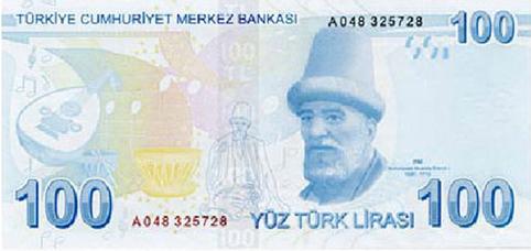 100 TL Arka Taraf - www.turkosfer.com