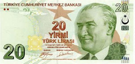 20 TL Ön Taraf - www.turkosfer.com
