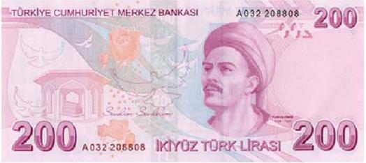 200 TL Arka Taraf - www.turkosfer.com