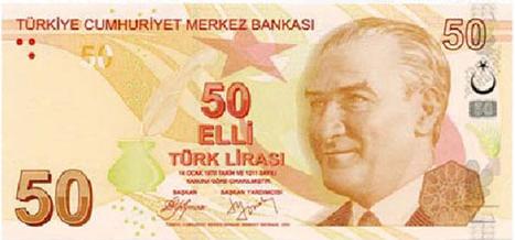 50 TL Ön Taraf - www.turkosfer.com
