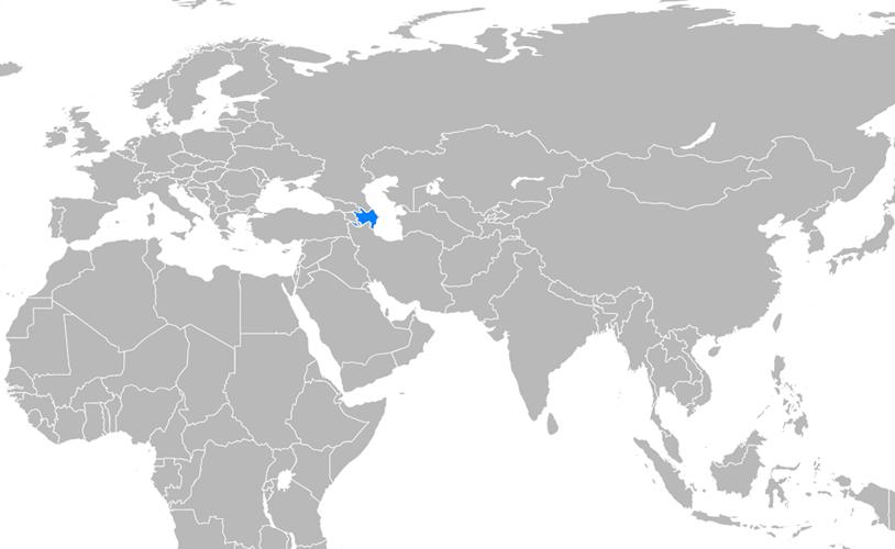 Azerbaycan Haritası - www.turkosfer.com