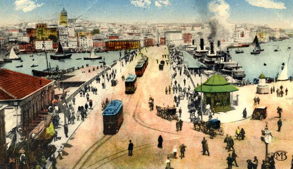 Eski Galata Köprüsü - www.turkosfer.com