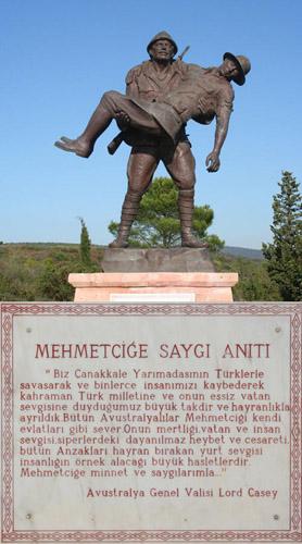 Mehmetçiğe Saygı Anıtı - www.turkosfer.com