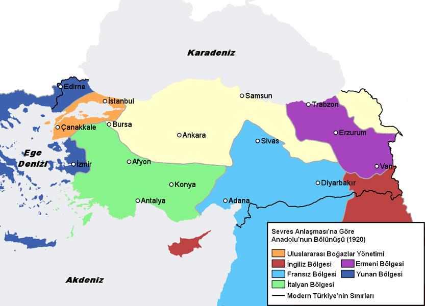 Sevr Antlaşması - www.turkosfer.com
